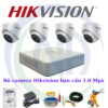 Bộ camera Hikvision 1.0 Mpx Dome